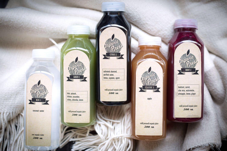 Organic Press ~ Juice Cleanse     Naomi D'Souza   Writer