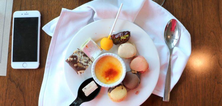 Tesoro Dessert Flatlay