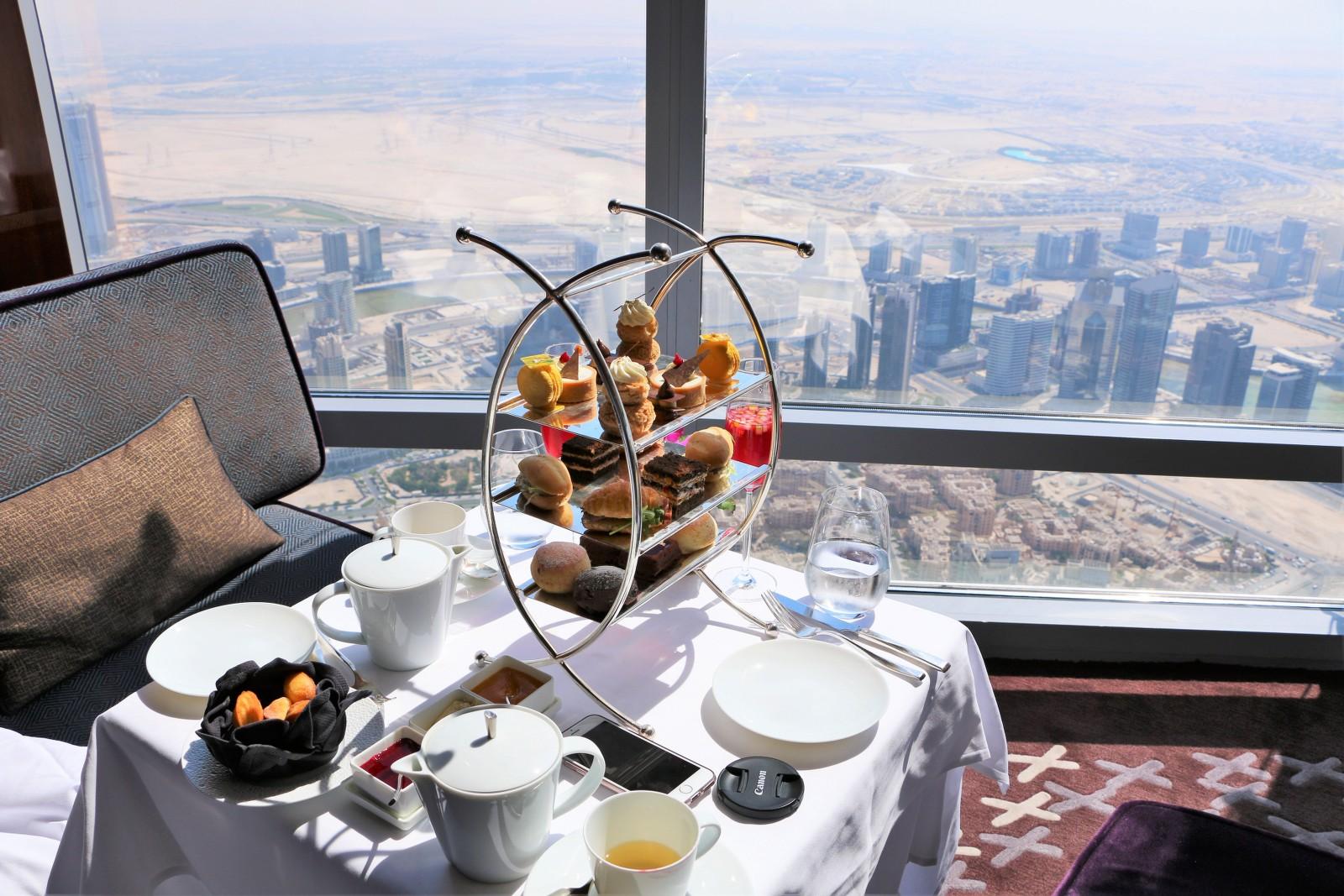 Dining burj khalifa