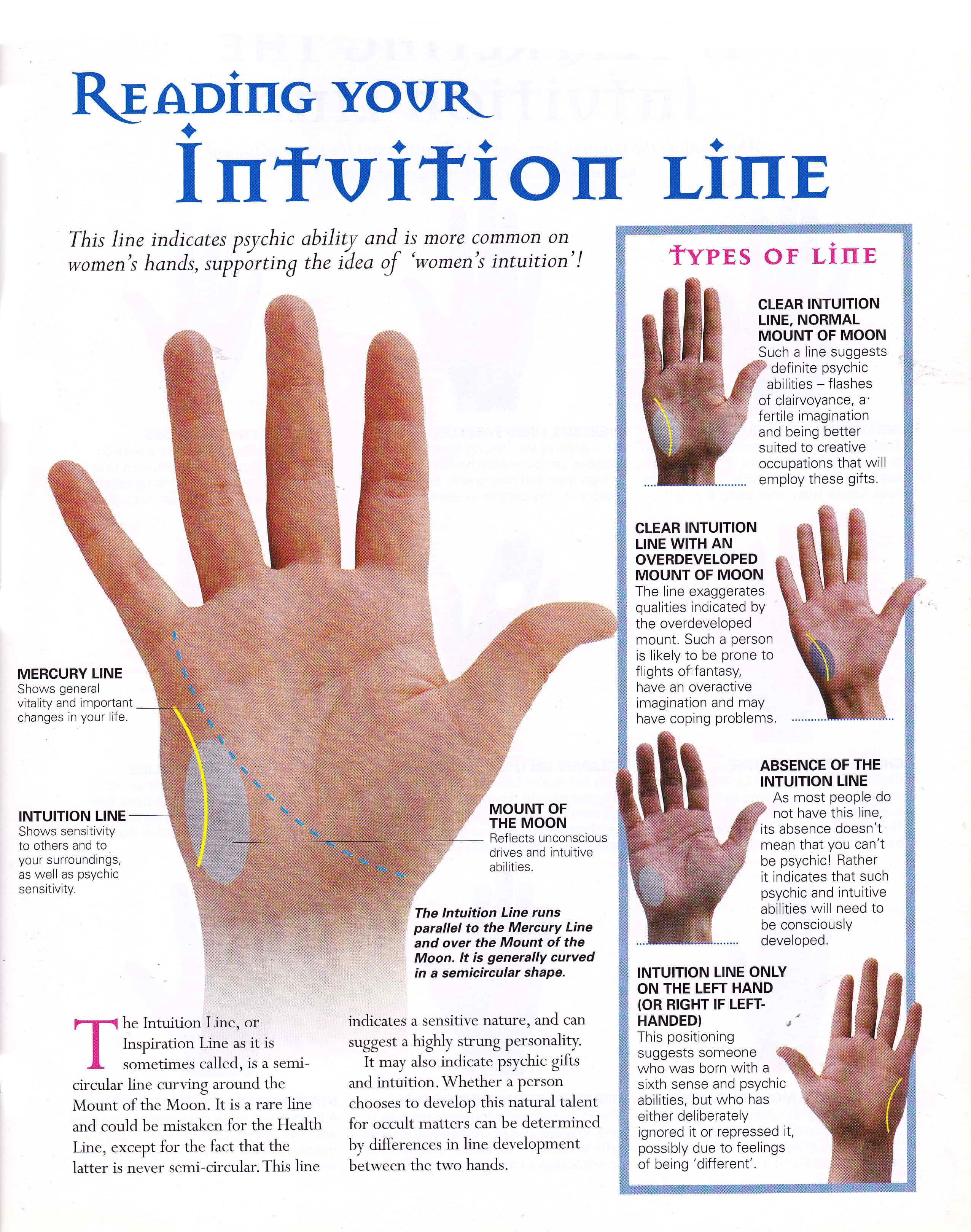 Palmistry for dummies… read your own palm! – Naomi D'Souza