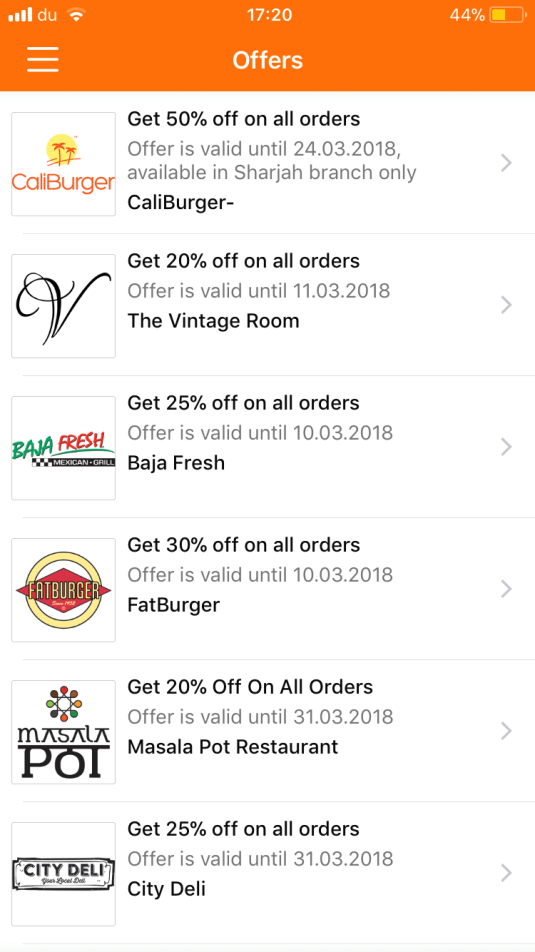 Pros & cons of 8 Food Delivery Apps in UAE, which should you choose