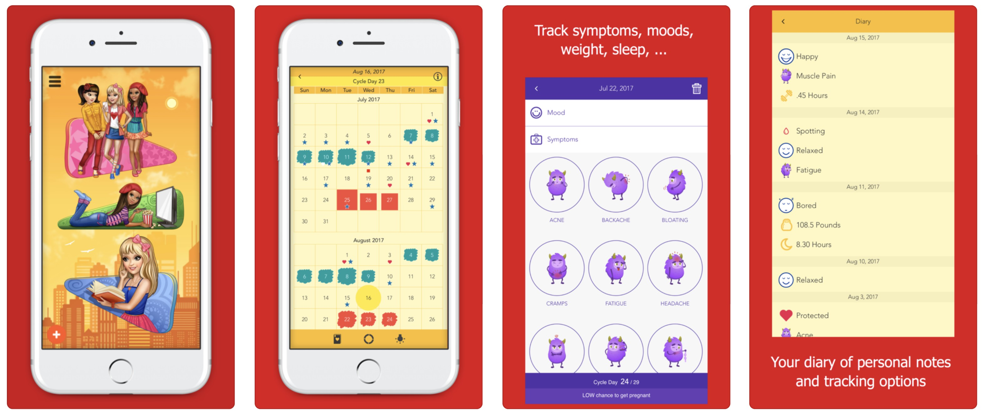 5 Free Menstrualperiod Apps That Should Be Your Best Friend Naomi